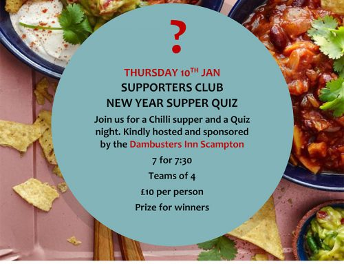 New Year Quiz at the Dambusters Inn