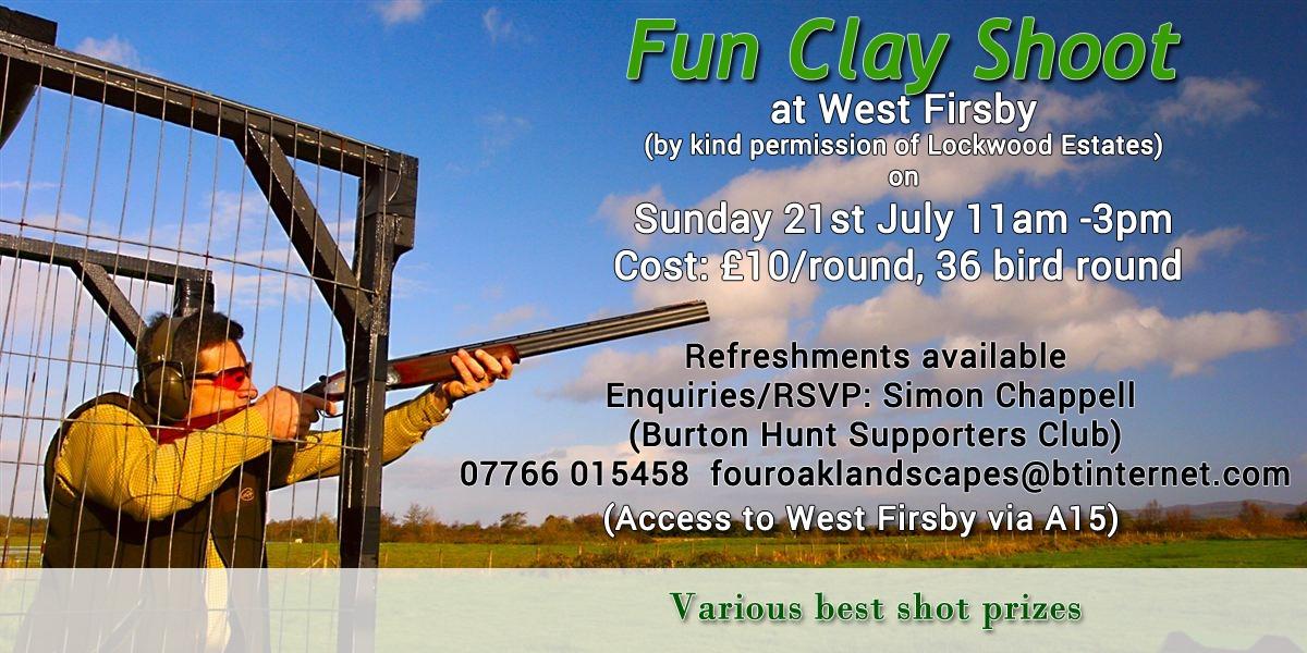 Fun Clay Shoot