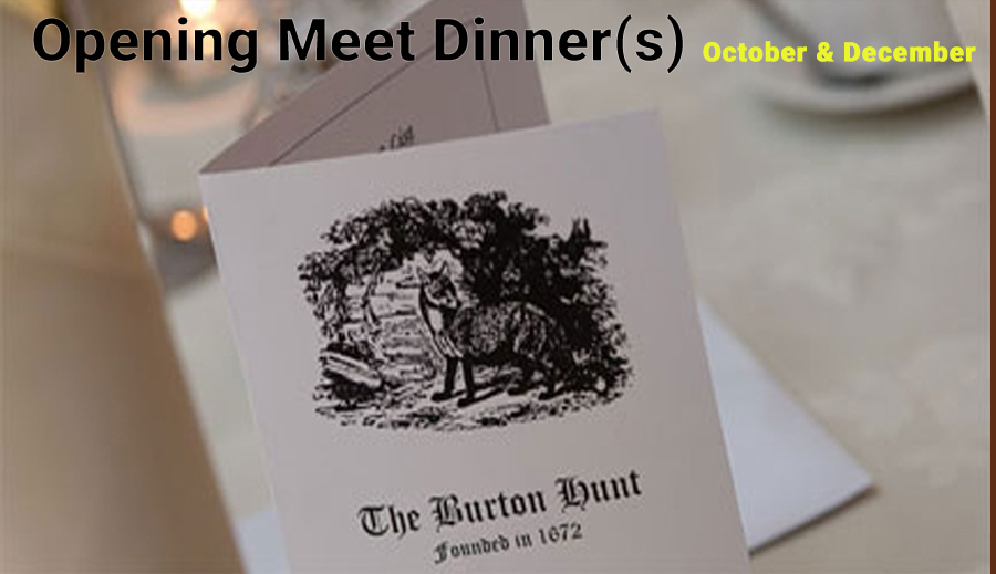 Opening Meet Dinner(s)