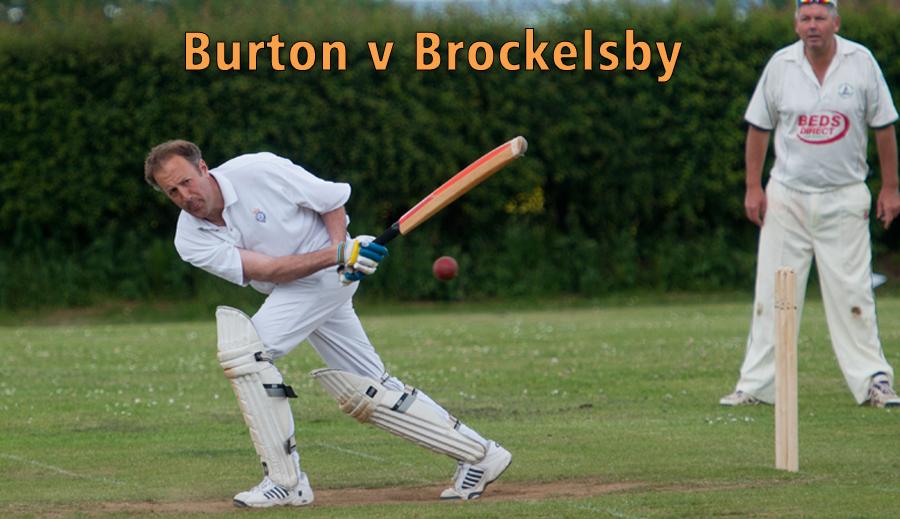 Burton v Brockelsby Cricket Match